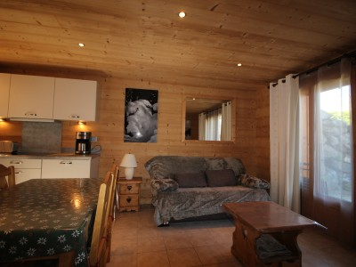 1 Bedroom cabine apartment in a chalet