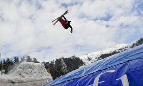 Big air bag Flaine